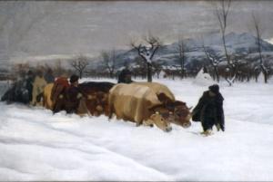 Cima - Fendineve olio su tela 105x196.8 1895