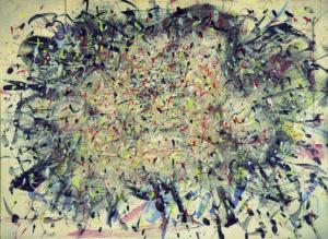 Tancredi, senza titolo, 1954, olio su faesite, 93x128cm