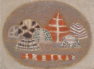 Zoran Music, Paesaggio senese, 1955, olio su tela, cm54,5x73,5